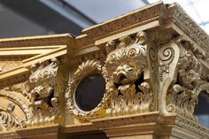 Prince Frederick's barge   National Maritime Museum   Greenwich - 23 by Paulo Dykes, via Flickr