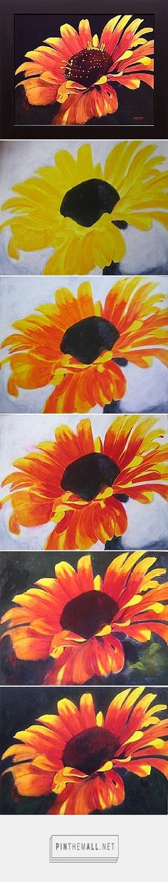 http://www.artinstructionblog.com/how-to-paint-a-flower-with-acrylics-step-by-step