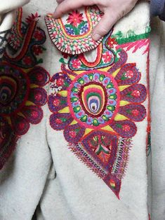 Folk Clothing, Embroidery, Needlepoint, Drawn Thread, Stitch, Stitches, Cut Work