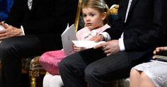 Estelle von Schweden war der heimliche Star des Gottesdienstes für ihren kleinen Bruder Oscar Carl Olof.