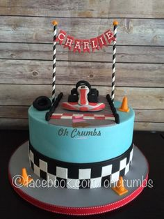 Go-kart cake - Cake by Oh Crumbs