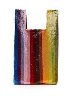 Striped sequin-embellished bag | Ashish | MATCHESFASHION.COM US