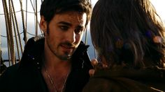 Colin O'Donoghue as Captain Hook in Once Upon a Time.  I want to see this now, He's hot