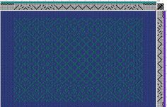 Draft of irridescent scarves