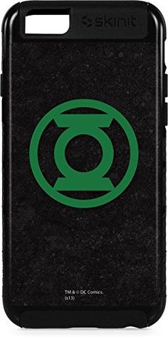 DC Comics Green Lantern iPhone 6s Plus Cargo Case - Green Lantern Logo Black Cargo Case For Your iPhone 6s Plus. Built To Last - Tough iPhone 6s Plus Cargo Case Made With A Double Layer Hard Shell & Rubber Liner Protection. Offically Licensed Green Lantern Case Design. Industry Leading Vivid Color Vinyl Print Technology. Textured Sidewalls - For Added Comfort & Enhanced iPhone 6s Plus Grip. Precision iPhone 6s Plus Fit - Increasing Protection Without Sacrificing Function.