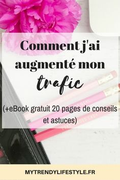 Comment j'ai augmenté le trafic de mon blog (+ eBook gratuit avec mes conseils et astuces pour dépasser vos premières 10 000 vues)