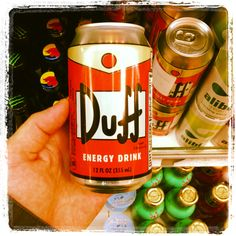 Duff energy drink for sale in out store. 355ml 2,99€