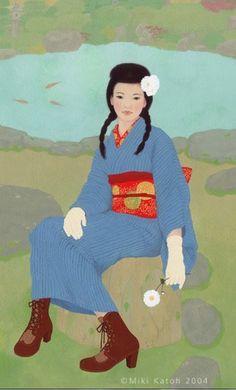 今でも人気の書生スタイル  和紙アート職人のMade in Japanとシンプルライフ