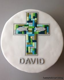 Hannahs Kreativblog: Tauftorte für David Valentines Day Activities, Valentines Day Gifts For Him, Bubble Bar Recipe, Purple Velvet Cakes, Confirmation Cakes, Baby Shower Cake Pops, Valentine's Day Poster, Hand Sewing Projects, Communion Cakes