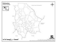 mapa de chuihuahua sin nombres  Buscar con Google  chihuahua