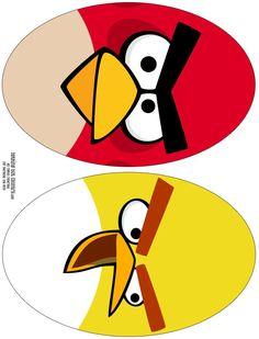 Casinha de Criança: Kit Festa Angry Birds Para Imprimir Grátis