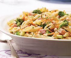 Pasta Salad with Tre Stelle® Ricotta and Ham #pasta #recipe