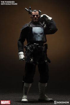 Pre-order Sideshow Collectibles 1/6th scale Frank Castle The Punisher 12-inch action figure