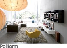 über-sized tapijt  (en Poliform interieur)