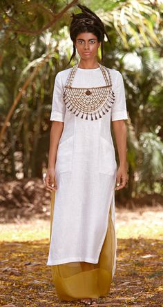payalkhandwala - keijo tunic + organza under skirt