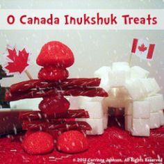Need an idea for a Canadian themed party appetizer? Make these super cute and delicious edible Inukshuk statues modeled after the magnificent stone monuments built by the Inuit people. Canada Day Party, Canada Day 150, Happy Canada Day, O Canada, Canada Day Fireworks, Canada Day Crafts, Cookie Monster Cupcakes, Canada Holiday, Summer Bbq