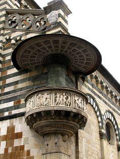 Prato (Toscana, Italia) - Pulpito di Donatello - Cattedrale di Santo Stefano