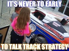 That's my dirt trackin' girl