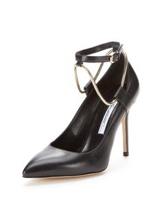 Kaela Leather Pump from Early Access: Brian Atwood on Gilt