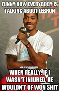It's that time of year again.. Please Derrick Rose, stay healthy for the WHOLE season lol #bullsnation #nba #therealreturn
