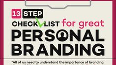 Great personal branding is not a forced lead generation strategy, but rather an extension of who you are and what you've done. Importance Of Branding, Lead Generation, Personal Branding, Infographic, Infographics