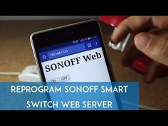 In this post, you're going to learn how to flash custom firmware in the Sonoff device, so that you can control it with your own web server. Cool Arduino Projects, Iot Projects, Electronics Projects, Electronics Basics, Arduino Wifi, Arduino Modules, Home Automation Project, Home Automation System, Mesh Networking