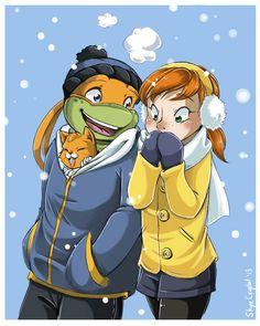 .: A Walk in the Snow :. by *xSkyeCrystalx on deviantART