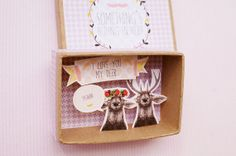 I love you my deer boîte à message