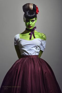 Bride of Frankenstein Costume Ideas | Frankenstein's Bride. - Imgur | Costume Ideas