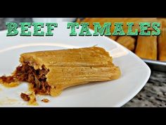 Authentic Mexican dishes are rustic, hearty, steeped in tradition, and as varied and unique as the regions they hail from. Here's our pick of top 5 most popular traditional Mexican dishes you can try while in Mexico. Authentic Tamales Recipe, Hot Tamales Recipe, Pork Tamales, Mexican Tamales Recipe Beef, Best Beef Tamale Recipe, Sweet Tamales, Homemade Tamales, Raw Food Recipes, Meat Recipes
