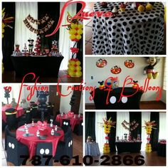 Mickey's decoration! 1st bday!