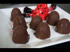 Receitas Bom Sabor 12/02/2014 - Bombom de amêndoas banhado no chocolate - Chef Mari Corali - YouTube