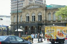 The Teatro Nacional (National Theatre) is in the heart of San Jose.