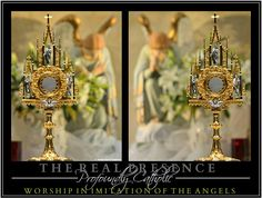 "Joseph Karl Publishing | The Eucharist ~ Our Treasure.  ""Trust all things to Jesus in the Blessed Sacrament and to Mary, Help of Christians, and you will see what miracles are.""  ~ Saint John Bosco"