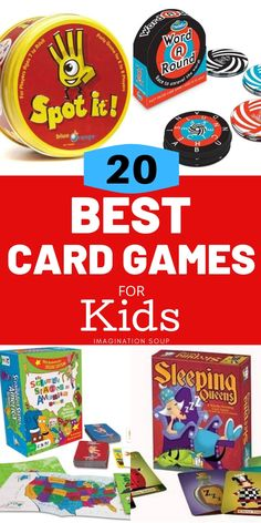 My family loves family game night which is pretty much every night for us. Here are our picks for the best card games for kids of all ages. Fun Card Games, Card Games For Kids, Learning Games For Kids, Family Game Night, Family Games, Educational Games, Family Love, Best Games, Cool Kids