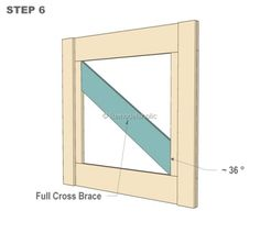 DIY Barn Door Baby Gate for Stairs STEP 6