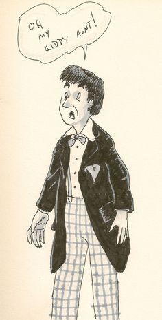 Oh, My Giddy Aunt!  2nd Doctor, Patrick Troughton.  By Me.