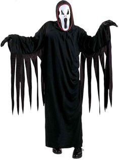 Kostüm Ghost für Kinder Scream Halloween Zombie, Halloween Costume Ghost, Halloween Noir, Costume Garçon, Masque Halloween, Kung Fu Panda, Braut Halloween, Boys Fancy Dress, Color Negra