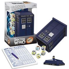Dr Who Yahtzee:  Geek Armory