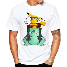d30809e4 Pokemon Go Men T-shirt Fashion Pikachu Stitch Tops Pikachu In Thor Armor  Printed t shirts Short Sleeve Hipster Comics tee