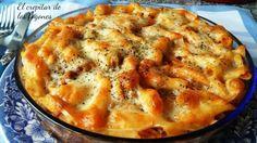 Increíblemente rica está esta receta de pasta que han compartido desde el blog EL CREPITAR DE LOS FOGONES.