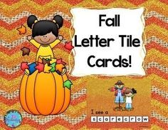 Have fun making Fall themed vocabulary words! Included are ten letter tile cards. (Total 30)pumpkin, leaves, apples, acorn, scarecrow, sunflower, squirrel, hay, corn, rake