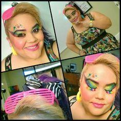#80s #makeup