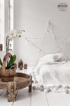 Decora tu dormitorio con guirnaldas de luz   Decorar tu casa es facilisimo.com