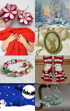 Beautiful Christmas Gifts by Rhian on Etsy--Pinned with TreasuryPin.com