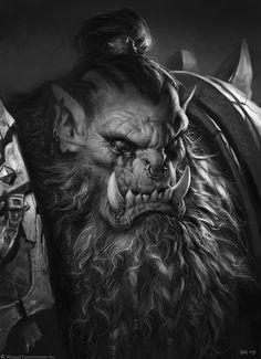 The Art of Warcraft Film - BlackHand , Wei Wang on ArtStation at https://www.artstation.com/artwork/rerVO