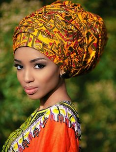 Head wrapDiyanu ~Latest African Fashion, African Prints, African fashion styles, African clothing, Nigerian style, Ghanaian fashion, African women dresses, African Bags, African shoes, Nigerian fashion, Ankara, Kitenge, Aso okè, Kenté, brocade. ~DKK