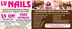 Get $5 OFF any LV Nails nail service or a FREE #pedicure upgrade with this #deal! http://www.gobuylocal.com/offerseo/Wayzata-MN/LV_NAILS/2859/2602/ #nailcare #acrylics #manicure