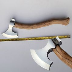 MDM Custom Hand Made Tomahawk Viking Hatchet Beared Camping Tool Axe