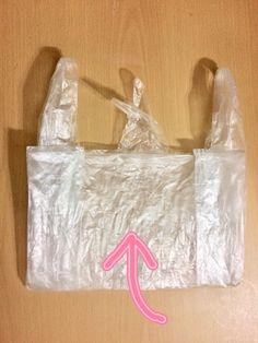 **♡レジ袋の可愛い畳み方♡**|LIMIA (リミア)
